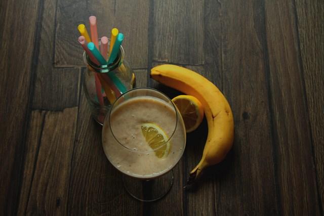 koktajl bananowo-gruszkowy fitapetyt 1